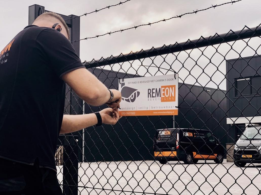 Pand beveiligd door REMEON Beveiliging