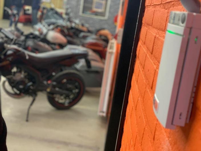 REMEON Bikershop beveiliging