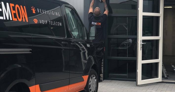 REMEON beveiliging bij autobedrijf