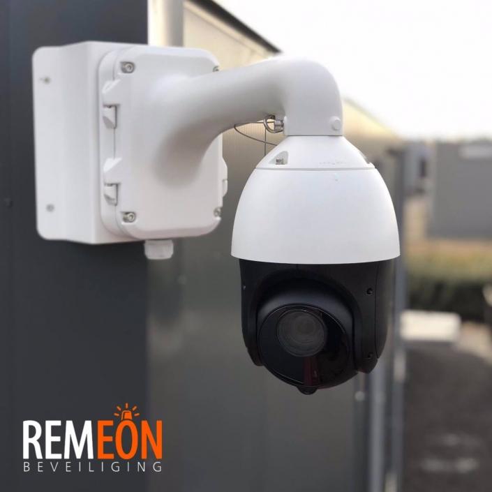 camerabeveiliging voor autobedrijf